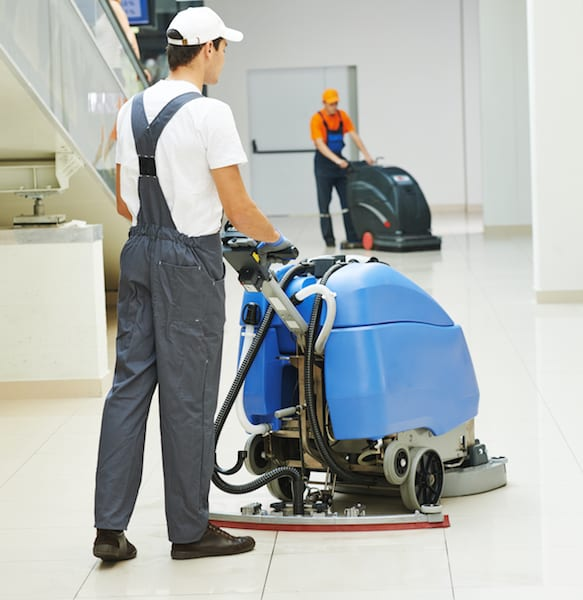 commercial floor cleaning in San Diego, CA